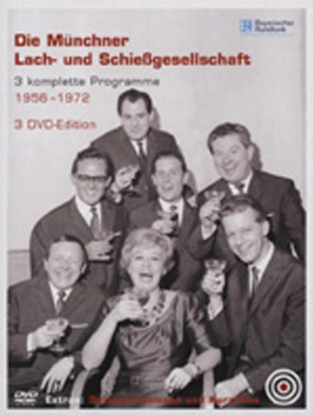 Münchner Lach-& Schiessgesells Drei komplette Programme 1956-72 (3-DVD Box)