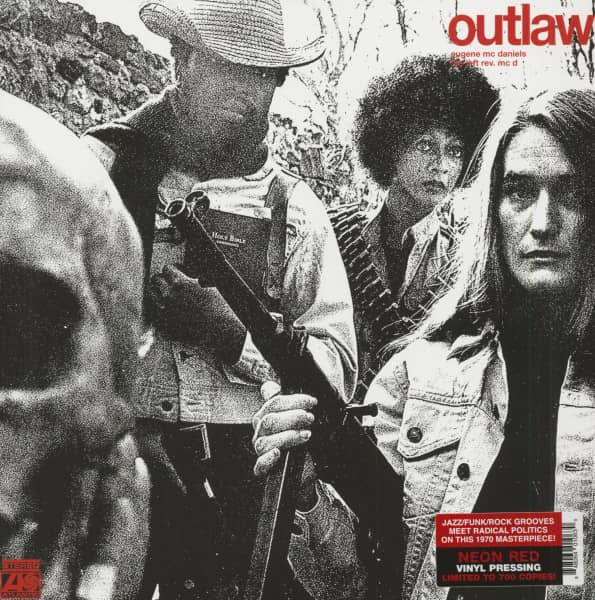 Outlaw (LP, Red Vinyl, Ltd.)