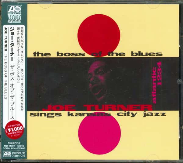 The Boss Of The Blues (CD, Japan)