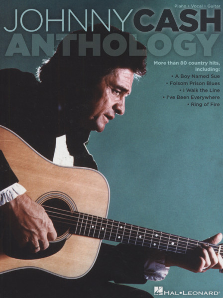 Cash (songbook), Johnny Piano, Vocal, Guitar - Anthology (ca.80 Song)