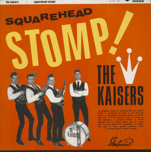 Squarehead Stomp (LP)
