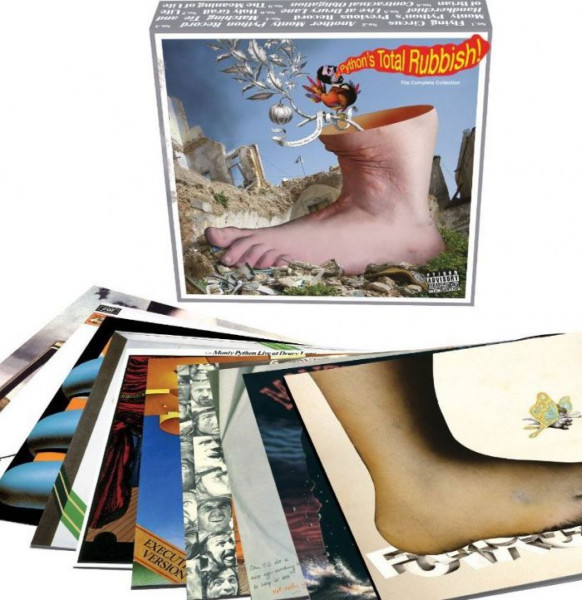 Monty Python's Total Rubbish (9-LP+7inch Box Set) Limited Edition