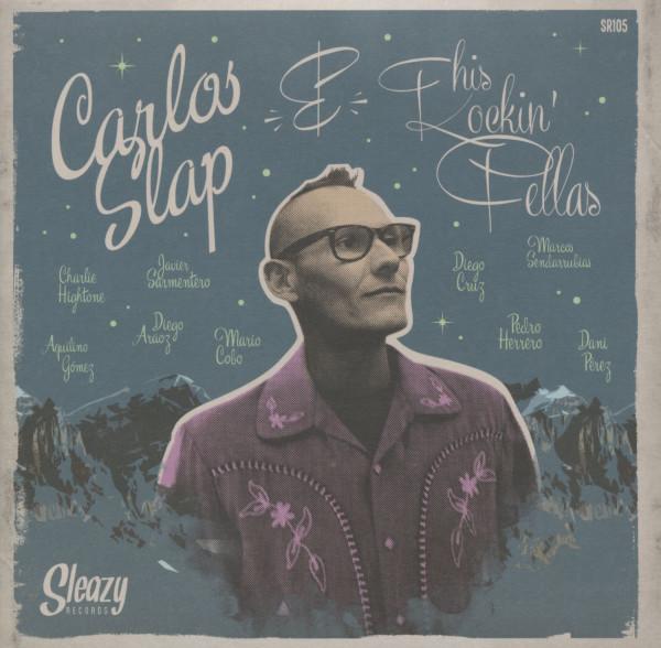 Carlos Slap & his Rockin' Fellas (45rpm, PS, sc)