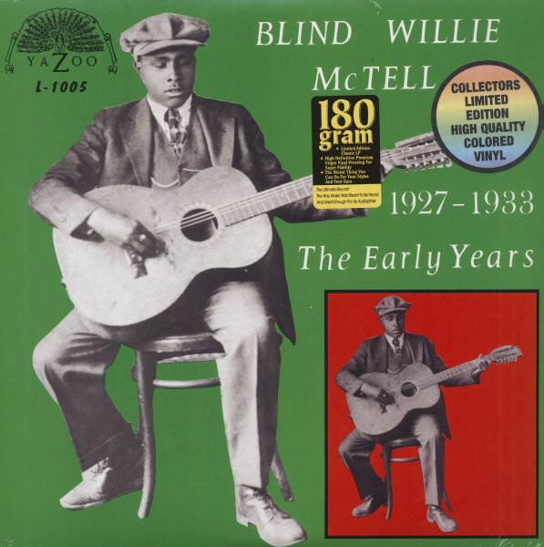 The Early Years 1927-1933 (LP, 180g Colored Vinyl, Ltd.)
