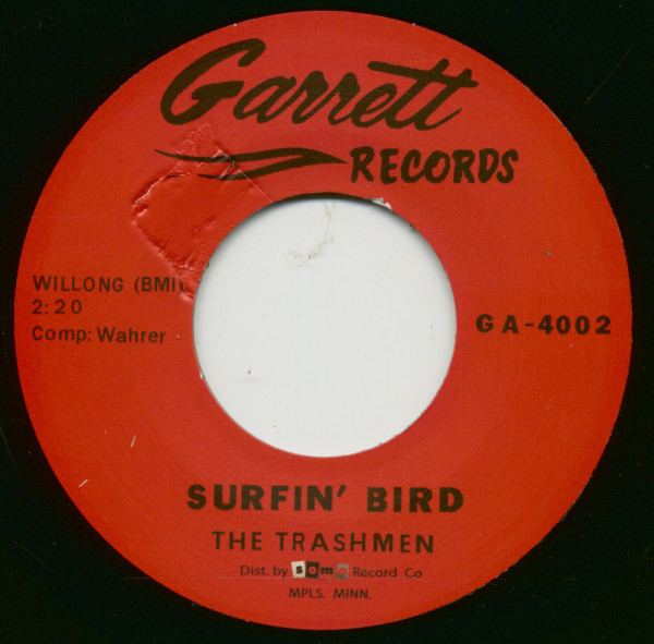 Surfin' Bird - Bird Dance Beat (7inch, 45rpm)