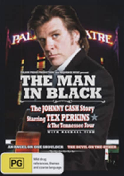 Perkins, Tex The Man In Black - Johnny Cash Tribute