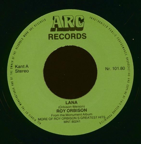 Lana - Mean Woman Blues 7inch, 45rpm, PS