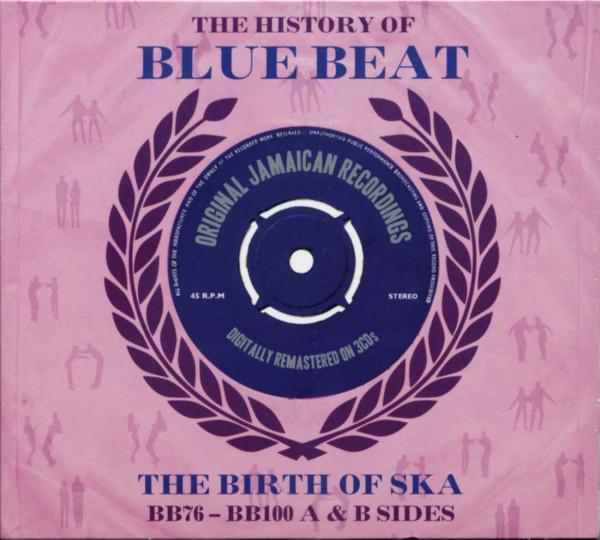 The History Of Blue Beat - The Birth Of Ska Vol.3 BB76-BB100 (3-CD)