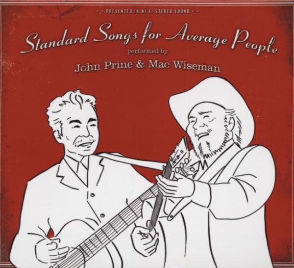 Prine, John & Mac Wiseman Standard Songs For Average People