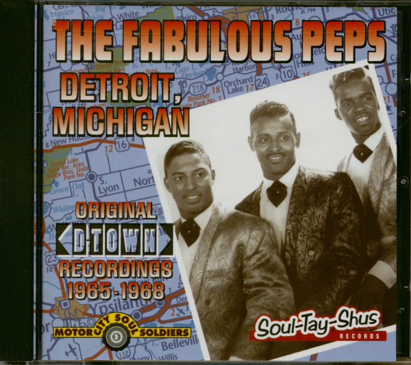 Detroit, Michigan (CD)
