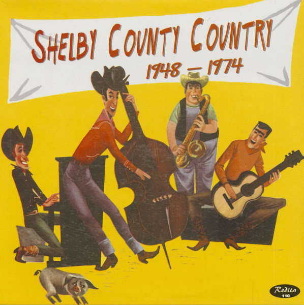 Shelby County Country 1948-1974 (LP)