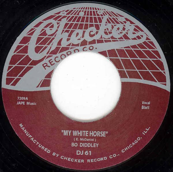 My White Horse - Deed I Do 7inch, 45rpm