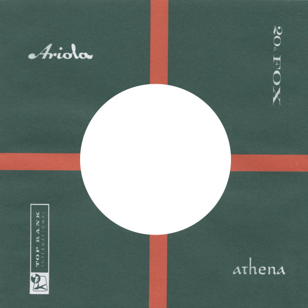 (50) Ariola - 45rpm record sleeve - 7inch Single Cover