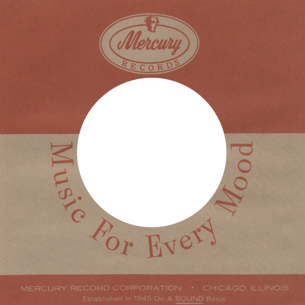 (50) Mercury 2, USA - 45rpm record sleeve - 7inch Single Cover