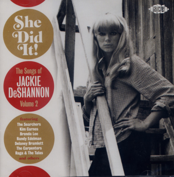 She Did It! - The Songs Of Jackie DeShannon Vol. 2