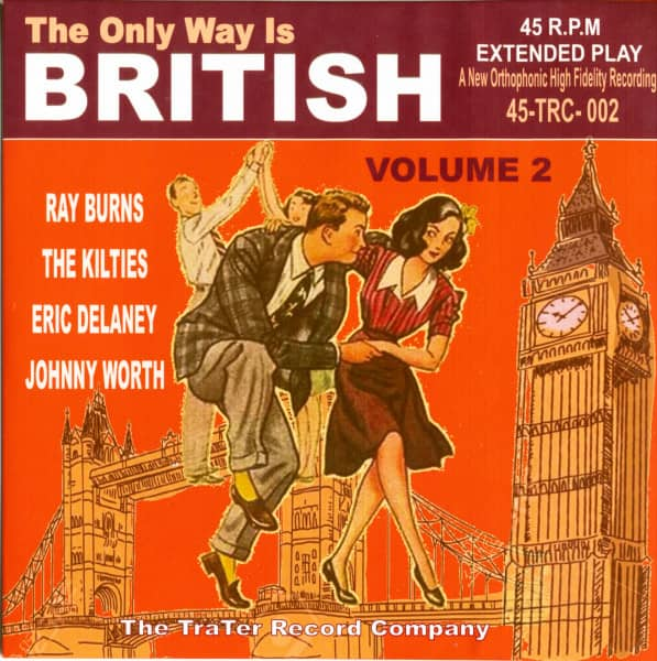 The Only Way Is British, Vol.2 (EP, 7inch, 45rpm, PS)