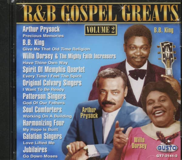 R&B Gospel Greats Vol.2 (CD)