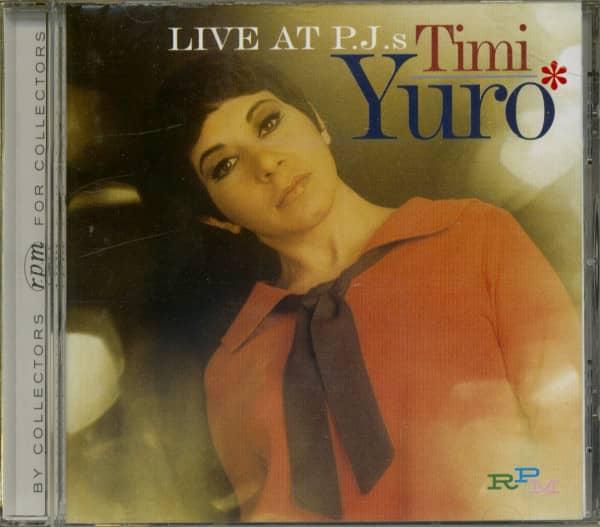 Live At PJ's - 1969 (CD)