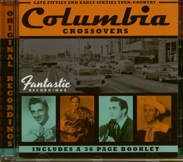Columbia Crossovers - Late 50s And Early 60s Teen Country (CD)