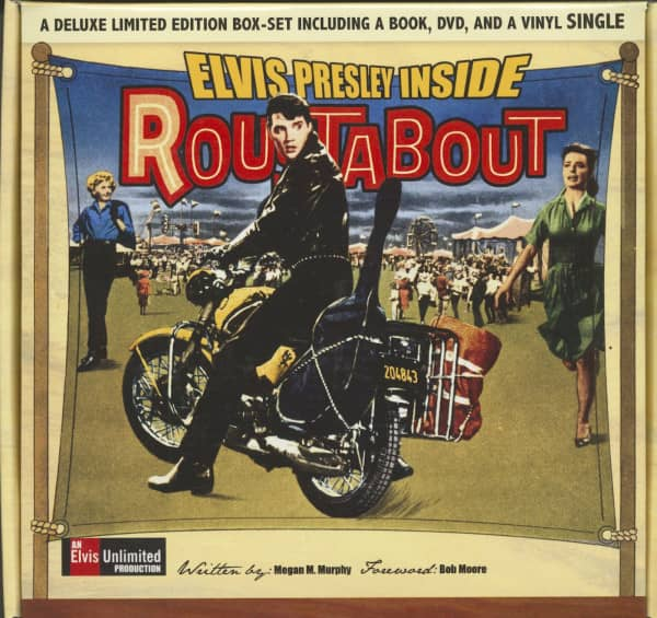 Inside Roustabout - Box Set (Book - DVD, 45rpm)