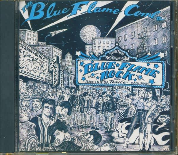 Blue Flame Rock (CD)