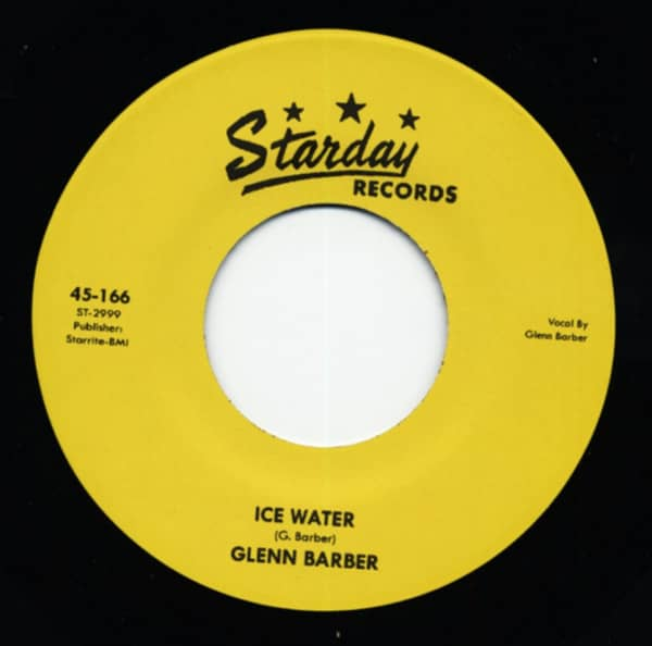Ice Water b-w Livin' High And Wide 7inch, 45rpm