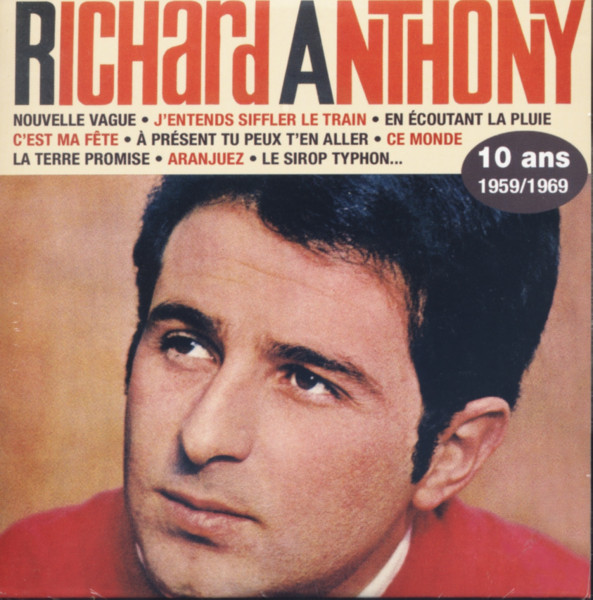 Anthony, Richard 10 Ans - Papersleeve