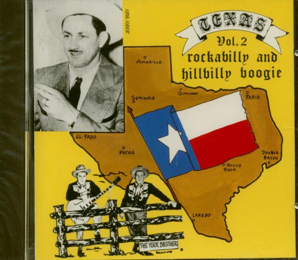 Texas Rockabilly And Hillbilly Boogie Vol.2 (CD)