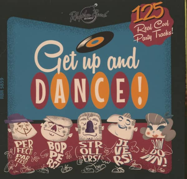 Get Up And Dance (5-CD)