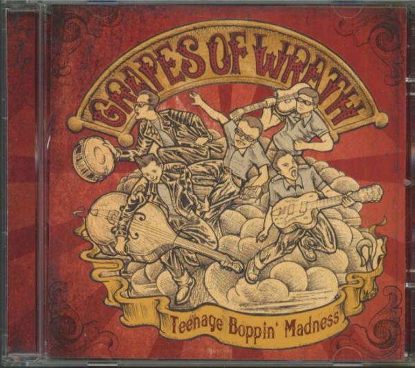 Teenage Boppin' Madness (CD)