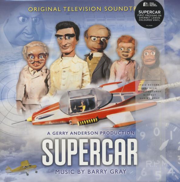 Supercar - Original Television Soundtrack (2-LP, Colored Vinyl, Ltd.)