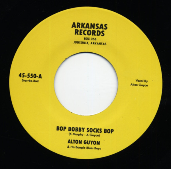 Bop Bobby Socks Bop b-w Coffee Baby 7inch, 45rpm