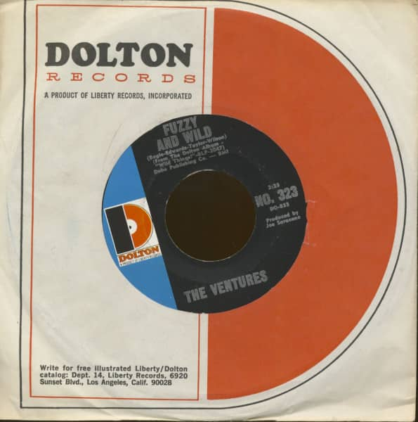 Fuzzy And Wild - Green Hornet Theme (7inch, 45rpm)