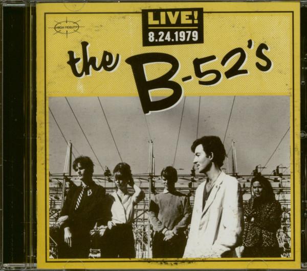Live! 8.24.1979 (CD)