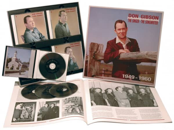 1949-1960 Singer, Songwriter (4-CD Deluxe Box Set)