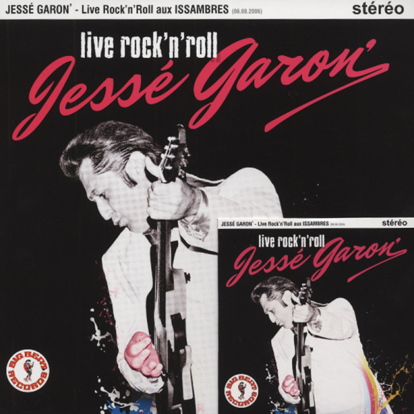 Garon, Jesse Live Rock & Roll...plus (25cmLP&CD) Ltd.