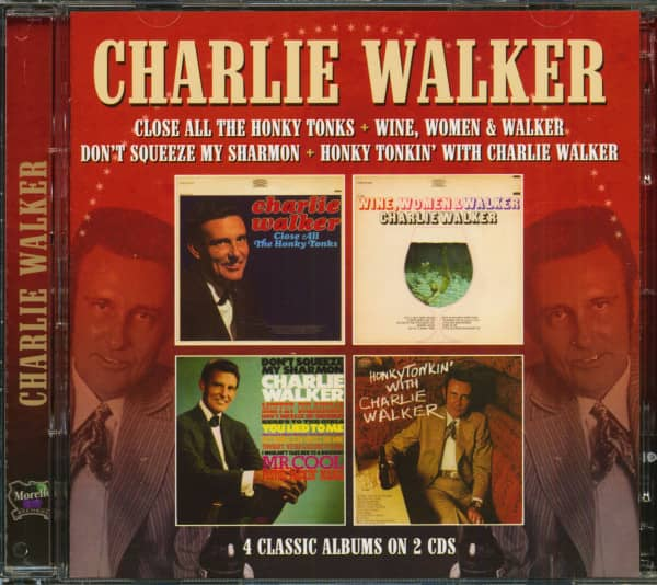 Close All The Honky Tonks - 4 Classic Albums (2-CD)
