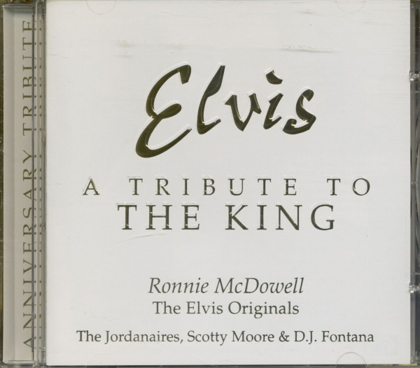 Tribute To The King (CD)