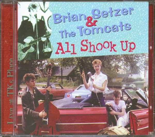 All Shook Up - Live At TK's Place, May 30, 1980, 2nd Set (CD)