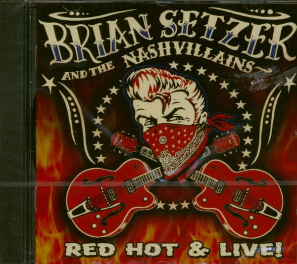 Red Hot & Live! (CD, US-Version)