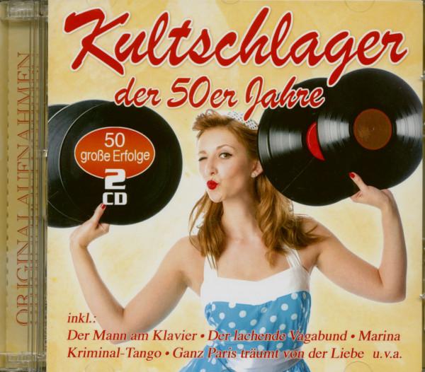 Kultschlager der 50er Jahre (2-CD)