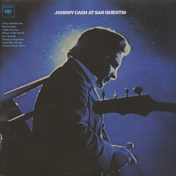 Johnny Cash At San Quentin (LP, 180g Vinyl)