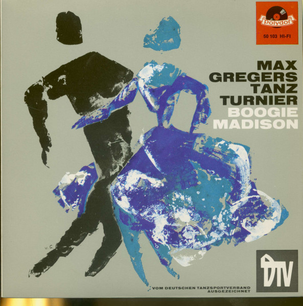 Max Gregers Tanzturnier - Boogie & Madison (7inch, 45rpm, EP, PS)