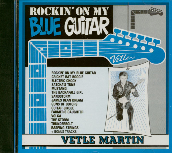 Rockin' On My Blue Guitar (CD Album)