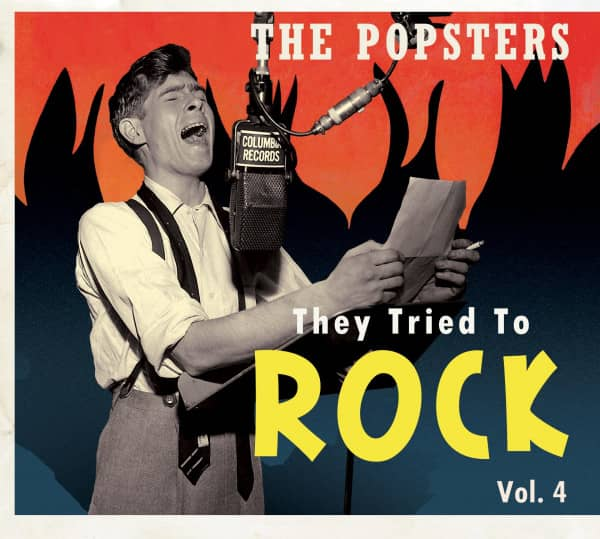 Vol.4, The Popsters - They Tried To Rock (CD)