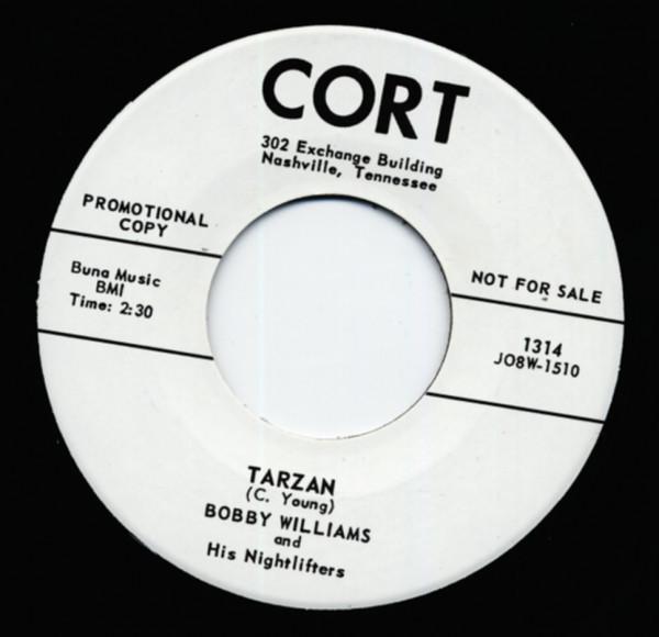 Tarzan b-w If Dreams Could Come True 7inch, 45rpm