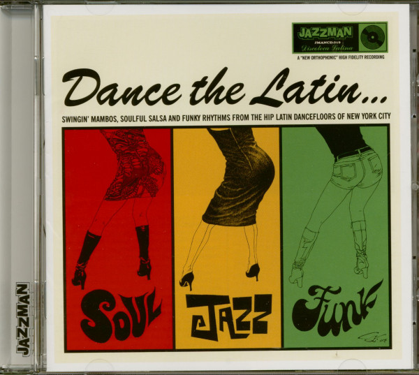 Dance The Latin - Soul Jazz Funk (CD)