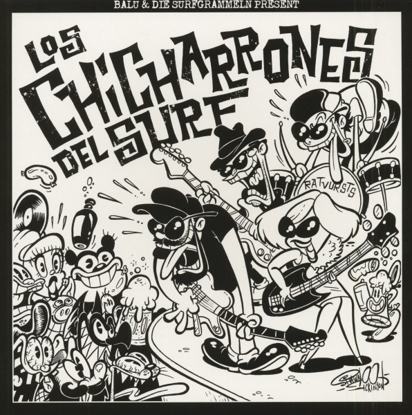 Los Chicharrones Del Surf (EP, 10inch, 45rpm, Ltd.)