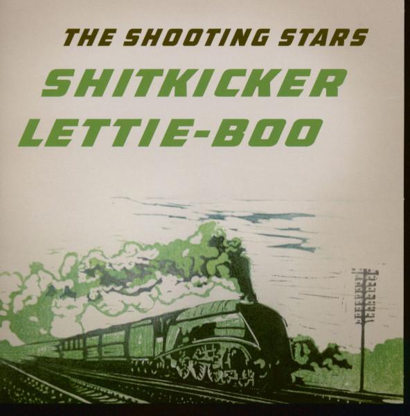 Shitkicker - Lettie-Boo (7inch, 45rpm, Red Vinyl, SC, PS)