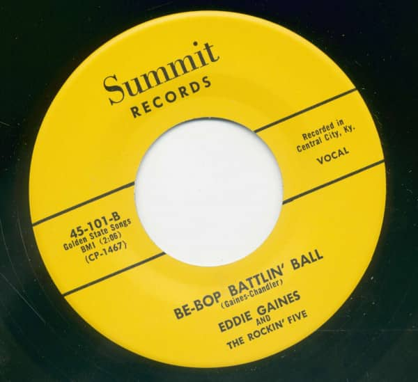 Be Bop Battlin Ball - Try This Heart For Size (7inch, 45rpm)